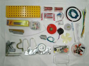Electricity Kit for making circuits, science projects and working models